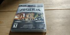 Used Ps3 Tomb Raider: Trilogy (Sony PlayStation 3, 2011) Complete!