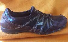SKECHERS 21140 Women's Running Dream Come True Slip On Trainers Black Us 9
