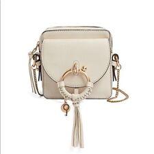 See By Chloe cement Beige Joan Crossbody bag