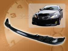 FOR 06-08 LEXUS IS 250 350 IN-STYLE FRONT BUMPER LIP BODY SPOILER KIT PU