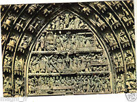 67 - cpsm - STRASBOURG - La cathédrale - Le tympan du portail central ( i 5299)
