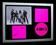 KASABIAN+SIGNED+FRAMED+48:13+CRYING OUT LOUD=100% AUTHENTIC+EXPRESS GLOBAL SHIP
