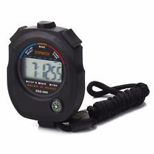 Digital Professional Handheld LCD Chronograph Timer Sports Stopwatch Counter