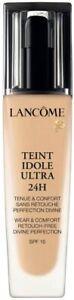 LANCOME Teint Idole Ultra Wear Foundation 24H SPF15 SHADE 025 BEIGE LIN 30ML