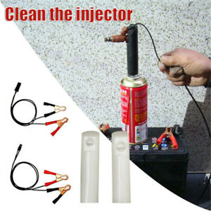 Car Vehicle Fuel Injector Flush Cleaner Adapter Cleaning Tool Nozzle DIY Kit/Set