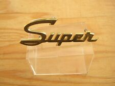 """Used Kaiser Jeep Super Wagoneer """"Super"""" Rear Quater Nameplate 1965~69 970 788"""
