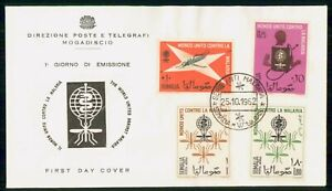 Mayfairstamps Somalia FDC 1962 World Againts Malaria Combo First Day Cover wwi_7
