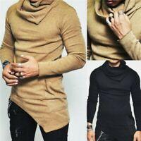 Winter Men Slim Warm High Neck Pullover Jumper Sweater Turtleneck Stylish Casual