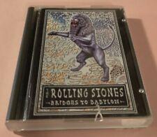 The ROLLING STONES MiniDisc - BRIDGES TO BABYLON + Inlays & Library Case 1997