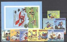 Walt Disney, Fahrzeuge, Jahr des Kindes - Antigua - ** MNH 1980