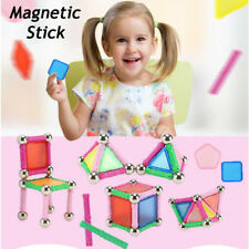 DIY Puzzle Magnetic Stick Intellect Rod Brain Teaser Game Educational Kids Toy