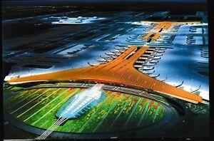 Beijing Capital International Airport postcard China
