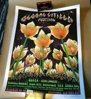 EMEK GLOBAL CITIZEN FESTIVAL A/E PEARL PAPER #87/100 18X24 MINT COND QUEEN