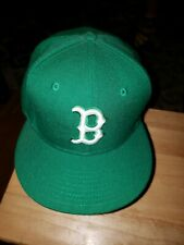 Boston Celtics Green 59fifty Fitted Cap Size 7 & 1/4 NWOT