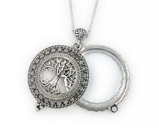 Timeless Treasures Irish Tree of Life Pendant Necklace w/Magnifying Glass