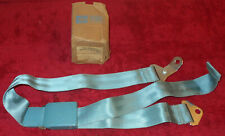 1966 Ford Galaxie 500 XL LTD Mercury Monterey NOS AQUA FRONT or REAR SEAT BELT