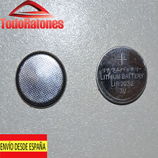 Pila de Litio LIR2032 3.6V 40mAh Lithium Cell Button Battery Batería recargable