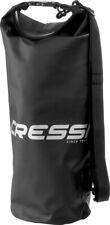 Cressi Dry Bag - Black / Silver - 15 Liter Capacity - Black / Silver