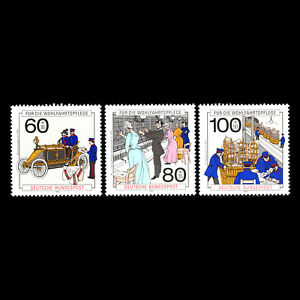 Germany 1990 - Charity Stamps - Postal Delivery & Telephone Comm - Sc B694/6 MNH
