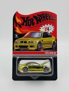 HOT WHEELS RLC Exclusive 2006 BMW M3 #02984/20000