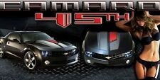 CUSTOM k2883k Chevrolet Chevy Camaro SS 2010-17 45th Garage Vinyl Banner Sign