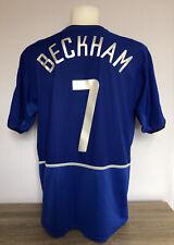 Manchester United Away Football Shirt 2002 2003 BECKHAM 7 Large L Adults Nike