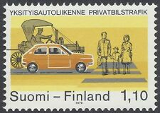 Finland 1979 MNH Stamp - Private Car Traffic - Issued October 1