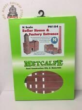 Metcalfe PN184 Factory Entrance & Boiler House Card Kit