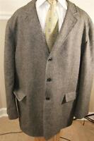 JOHN W.NORDSTROM herringbone cashmere coarshair sportcoat blazer  SIZE 46R