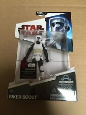 STAR WARS LEGACY COLLECTION BD12 BIKER SCOUT ACTION FIGURE NEW