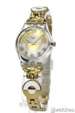 Swiss Swatch Women Originals MASTERGLAM A Traveler's Dream Gold Watch LK369G $80