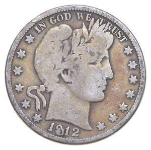 Better 1912-D - US Barber 90% Silver Half Dollar Coin Collection Set Break *545