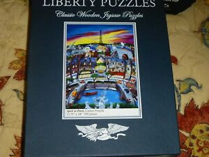 liberty wooden puuzles