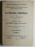 Rare Livre Ancien la doctrine catholique 1933 librairie catholique Emmanuel