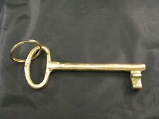 VINTAGE ANTIQUE VERY LARGE KEY - COLLECTIBLE LOCK