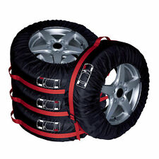 4x Car Seasonal Spare Tyre Tire Protection Cover Carry Tote Handle Storage Bags