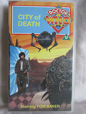 "Doctor Who VHS Video "" City of Death "" starring Tom Baker ( 1991 )"