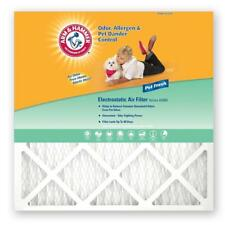 (4-Pack) Arm & Hammer 20 in. x 25 in. x 1 in. Enhanced Odor, Air Filter *R14