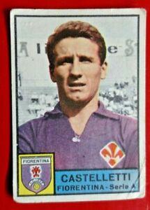 CASTELLETTI FIORENTINA - FIGURINA COLLEZIONE PANINI 1963/64