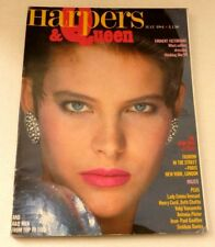 Harpers and Queen - May 1984   VINTAGE WOMENS MAGAZINE