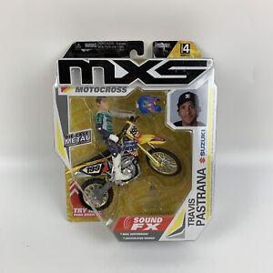 Travis Pastrana MXS Motocross Sound FX Bike Rider Series 4 RARE #199 Jakks
