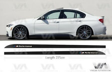 BMW 3 SERIES F30 F31 M PERFORMANCE CARBON SIDE SKIRT STICKERS DECALS VINYLS