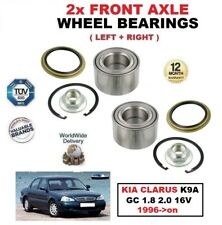 FOR KIA CLARUS K9A GC 1.8 2.0 16V 1996->on FRONT LEFT and RIGHT WHEEL BEARINGS