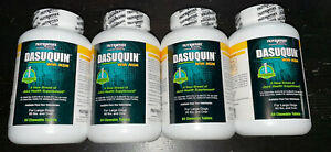Lot (4) NEW Nutramax DASUQUIN w/ MSM LARGE Dogs 336 Chewable Tablets ALL NEW!!!!