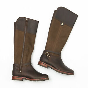 Ariat Carden Chocolate/Willow Waterproof H20 Boots - Size 6.5 M