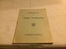 Coronella a Maria Santissima - Bitonto Tipografia Garofalo - Vito Gabrielli