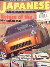 Japanese Performance Magazine Nissan 350Z & Supras August 2002 021018nonrh