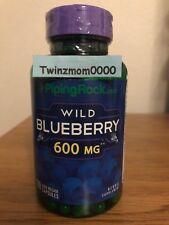 Wild Blueberry Fruit 600mg 120 Capsules Antioxidants