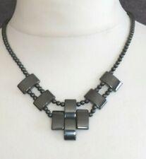 STRIKING Healing Hematite Magnetic Necklace - NEW