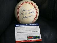 Andre Dawson Autographed Baseball PSA Certified